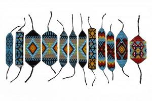 Beaded Friendship Bracelets, Native American Inspired, Manillas chaquira -Arte Tribal del Putumayo- Ampliación Grupo 3 (Artefactos – Arte Moda – Tribal Art)
