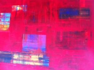 Estudio en escarlata -s (Arte abstracto – Lenguaje visual autónomo)