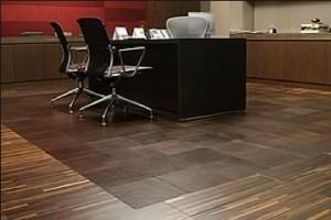 Leather rug cueros A.