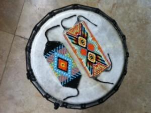 Manillas Putumayo en tambor (Artefactos – Arte Moda – Tribal Art)