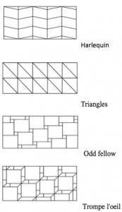 Tile patterns II