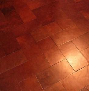 leather floor Pavement